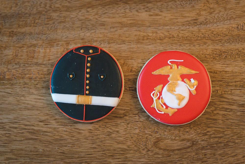 usmc marine corps cookies ega