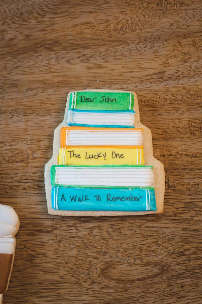nicholas sparks books cookies