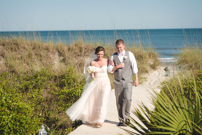 beach side wedding